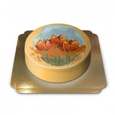 Gâteaux Tulipes Hollandaises