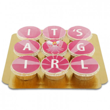 "Cupcakes ""It's a girl"""