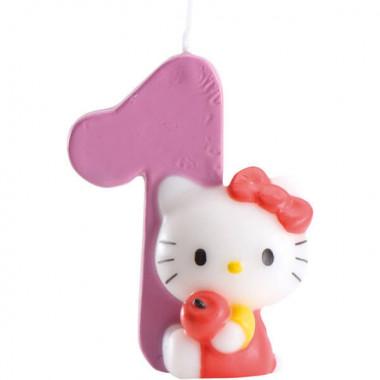Bougie chiffre Hello Kitty, chiffre 0-9