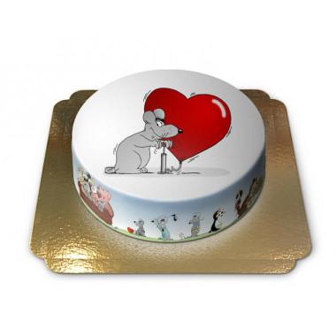 Gâteau ballon d'amour