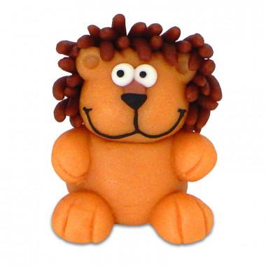 Lion en pâte d'amande