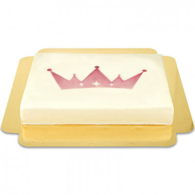 Gâteau avec logo - 39 x 27 cm (L)