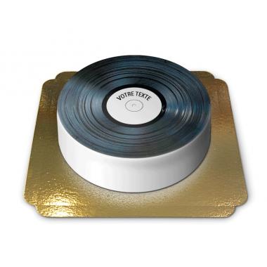 Gâteau tourne-disque