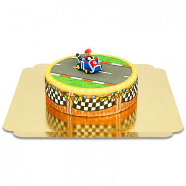 Mario Kart sur gâteau Grand Prix