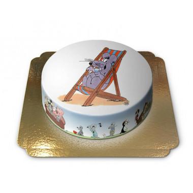 Gâteau vacances à la plage