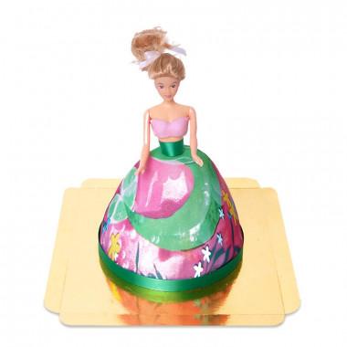 Gâteau Poupée sirène