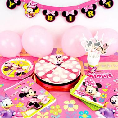 Kit d'anniversaire Minnie (gâteau inclus)
