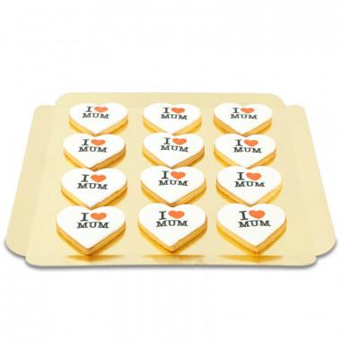 "Biscuits ""I Love Mum"" (12 pièces)"