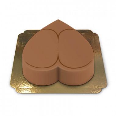 Gâteau Fessier Sexy Couleur Cappuccino