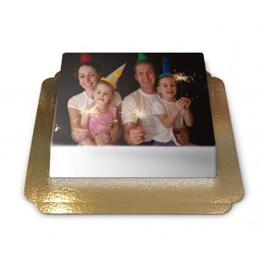 Gâteau-Photo Sans Cadre