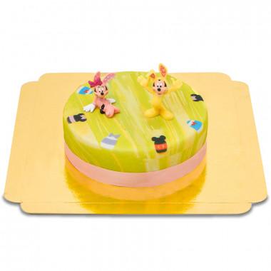 Gâteau de Pâques avec les Héros Disney