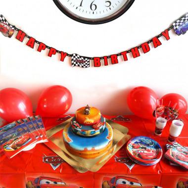 """Kit anniversaire """"Cars"""" (gâteau inclus)"""