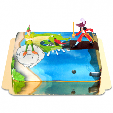 Peter Pan et Capitaine Crochet au Pays imaginaire