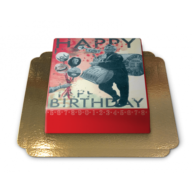 Gâteau Happy Birthday par Pia Lilenthal