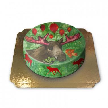 Gâteau Renne de Noël par Pia Lilenthal