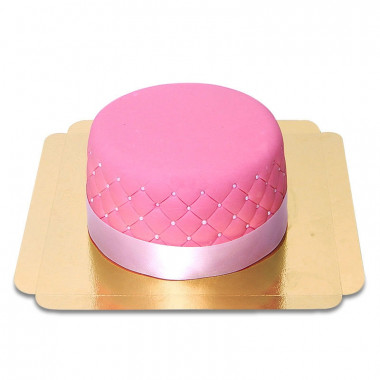 Gâteau Deluxe rose-double hauteur