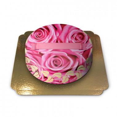 Gâteau orné de Roses