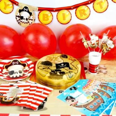 """Kit d'anniversaire """"Pirates"""" (gâteau inclus)"""