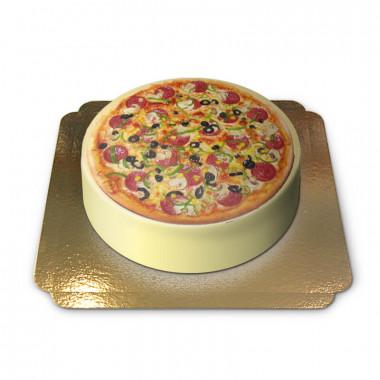 Gâteau Pizza