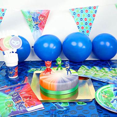 """Kit anniversaire """"Pyjamasque"""" - Gâteau inclus"""