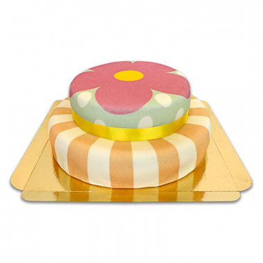 Gâteau Playful à 2 étages