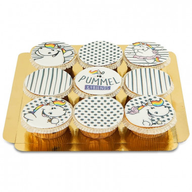 Cupcakes Licorne Chubby à motifs