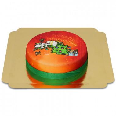 Pummeleinhorn Weihnachts-Torte