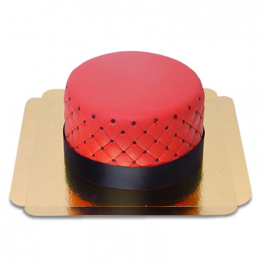 Gâteau Deluxe Rouge - double hauteur