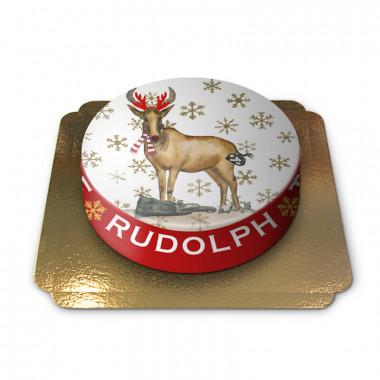 Gâteau Le Renne Rudolphe
