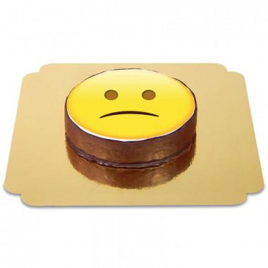Gâteau Sacher Emoji Triste