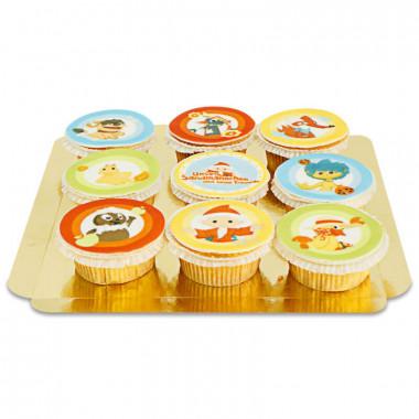Cupcakes du Marchand de Sable et ses Amis