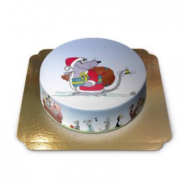 Gâteau Souris de Noël
