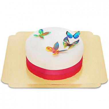 Gâteau Papillons en relief