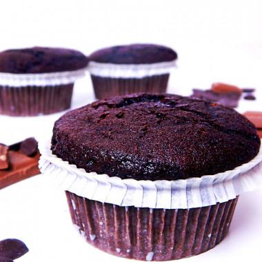 Muffins au chocolat (9 pièces)
