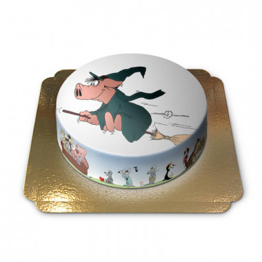 Gâteau Cochon Sorcier