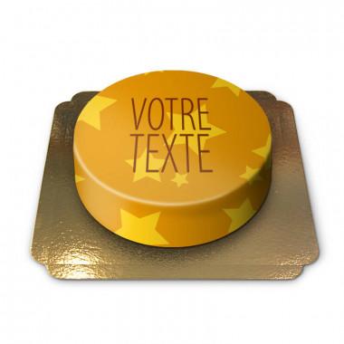 Gâteau étoiles