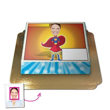 Superwoman - Face-Cake