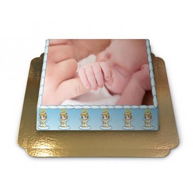 Gâteau-Photo Baptême