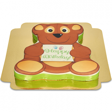 Gâteau ourson anniversaire