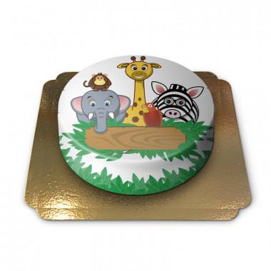 Gâteau animaux