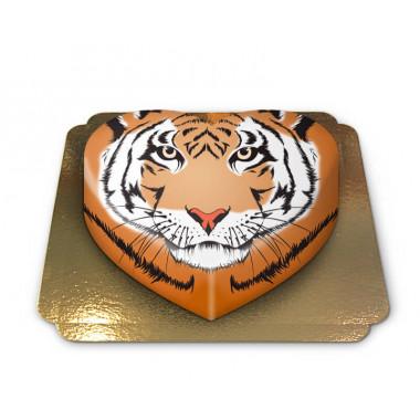 Gâteau-Tigre en forme de coeur