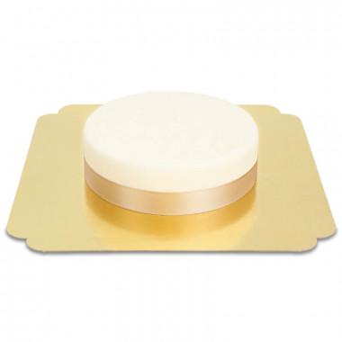 Ruban Rosegold mince - 19mm