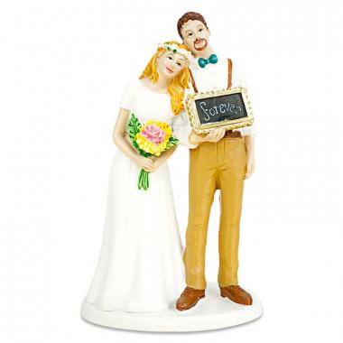 Figurine mariés «Forever»