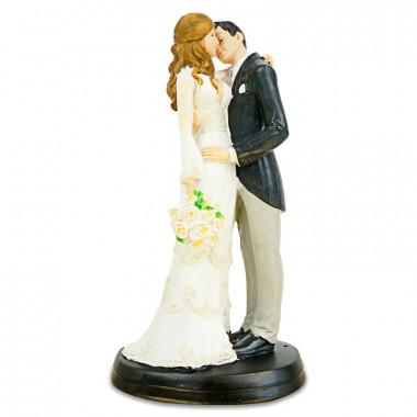 Figurine mariés qui s'embrassent