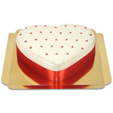 Gâteau Deluxe en forme de coeur
