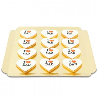 Biscuits I Love Dad (12 pièces)