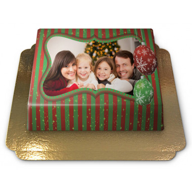Gâteau-Photo Noël (S)