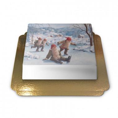 Nains de Noël à la patinoire - Jan Bergerlind