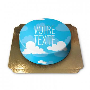 Gâteau nuages