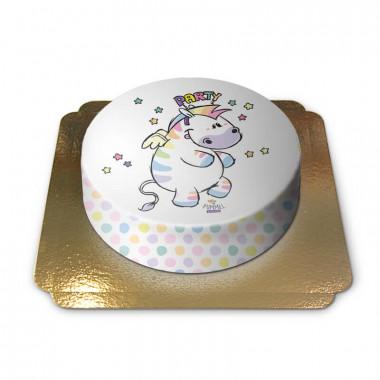 Gâteau avec Chubby Zèbre